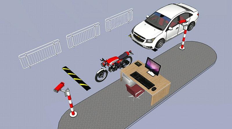 các mô hình bãi đỗ xe thông minh