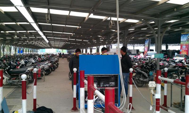 Lắp đặt hệ thống quản lý bãi xe trung tâm thương mại