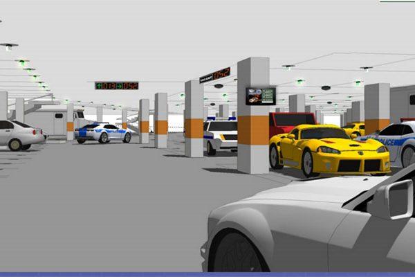 Giải pháp bãi đỗ xe trung tâm thương mại