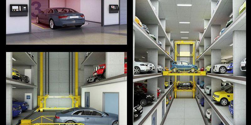 Giải pháp quản lý bãi đỗ xe thông minh bằng hệ thống nâng hạ