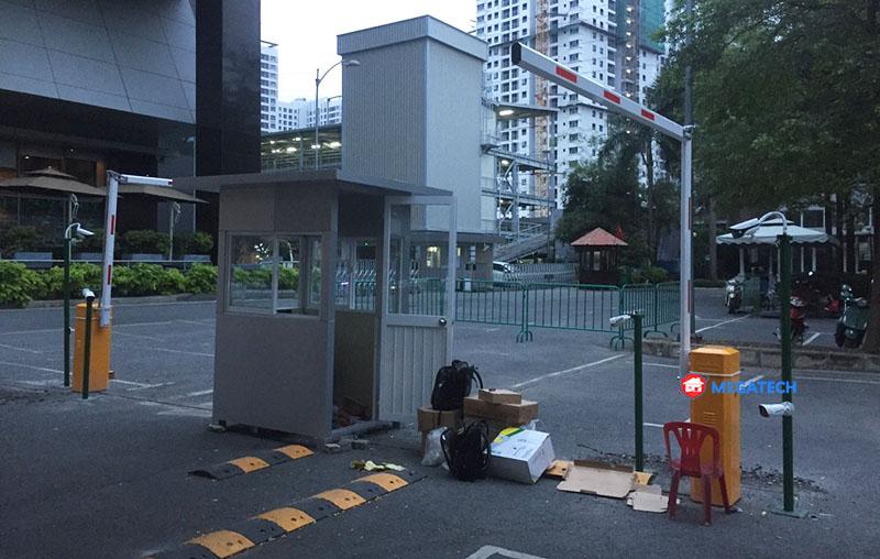 Lắp đặt thiết bị bãi xe thương mại ngân long tại hcm