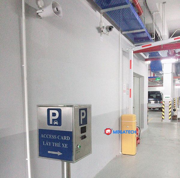 Lắp đặt thiết bị bãi xe chung cư