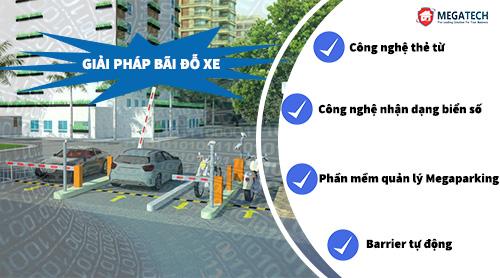 giải pháp bãi đỗ xe