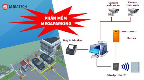 phần mềm bãi đỗ xe megaparking