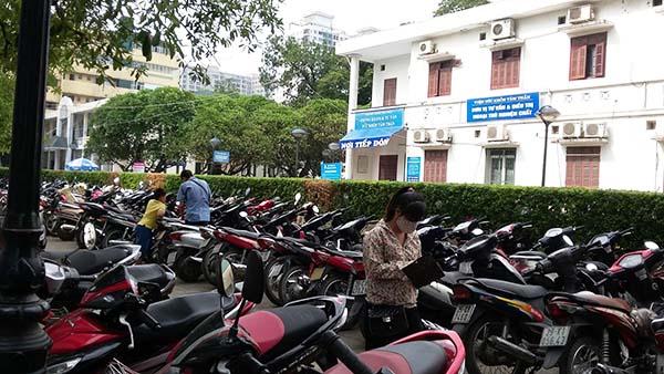 giải pháp quản lý bãi đỗ xe tại bệnh viện