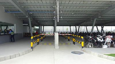 Giải pháp kiểm soát bãi đỗ xe tại nhà máy, khu công nghiệp