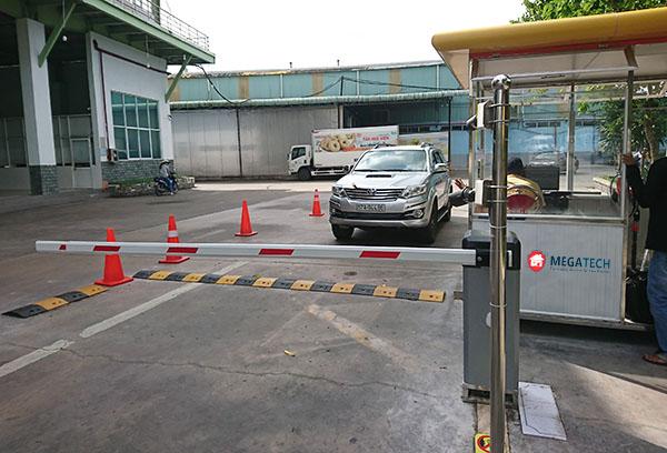 Barie dùng cho bãi đỗ xe