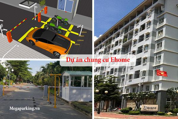 Lắp đặt hệ thống kiểm soát bãi đỗ xe chung cư Ehome Quận 9