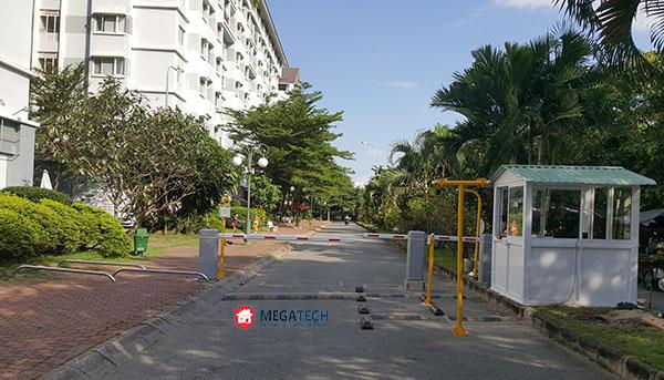 lắp đặt bãi đỗ xe cho chung cư