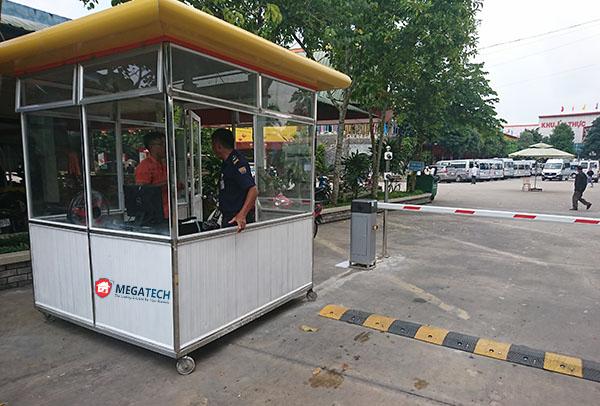 kiểm tra và vân hành thiết bị thi công bãi đỗ xe
