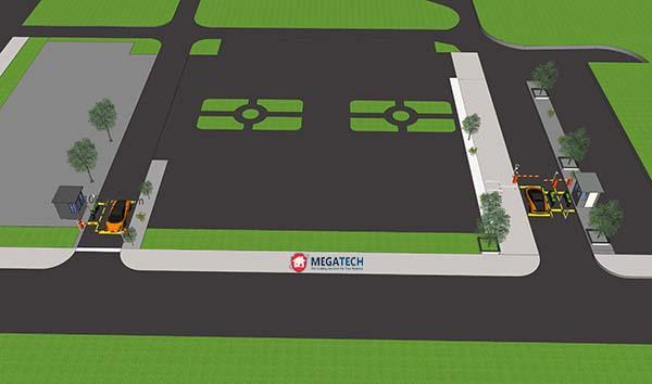thiết kế bãi đỗ xe chung cư ehome