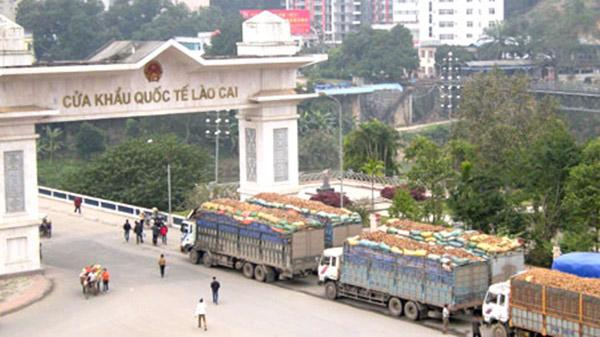 Kiểm soát ra vào tại cửa khẩu quốc tế Lào Cai