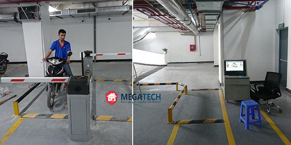 Lắp đặt bãi đỗ xe thông minh cho tòa nhà văn phòng Serepok