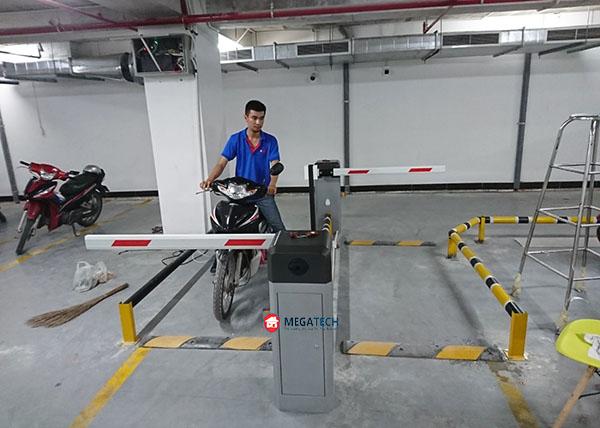 barrier lắp đặt cho bãi đỗ xe Serepok