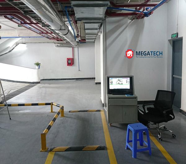 lắp đặt hệ thống bãi đỗ xe Serepok