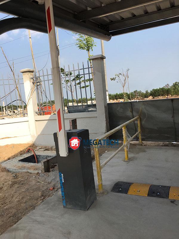 Vị trí lắp đặt cổng barrier