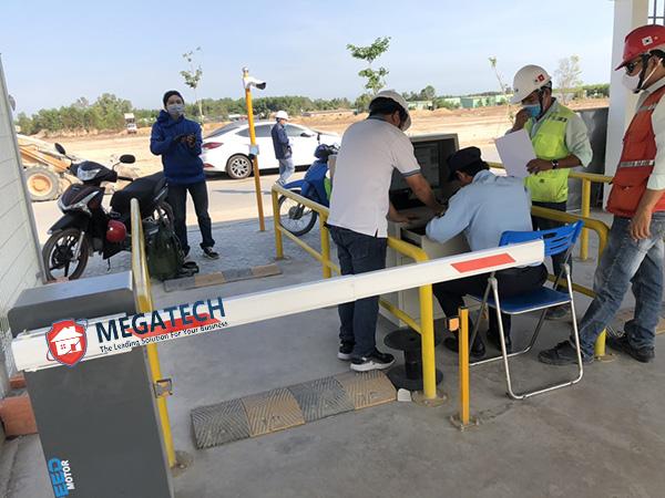 Megatech triển khai thi công bãi xe thông minh cho nhà máy Nhơn Trạch