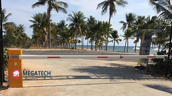 Sử dụng cổng Barrier ZKTECO PB4030L/R tốc độ 3 giây