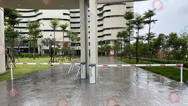Cung cấp và lắp đặt cổng barrier BR660T tại khách sạn Pullman Phú Quốc