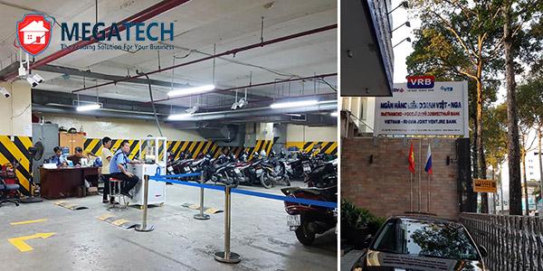Dự án bãi giữ xe thông minh trong tầng hầm tòa nhà BIDV