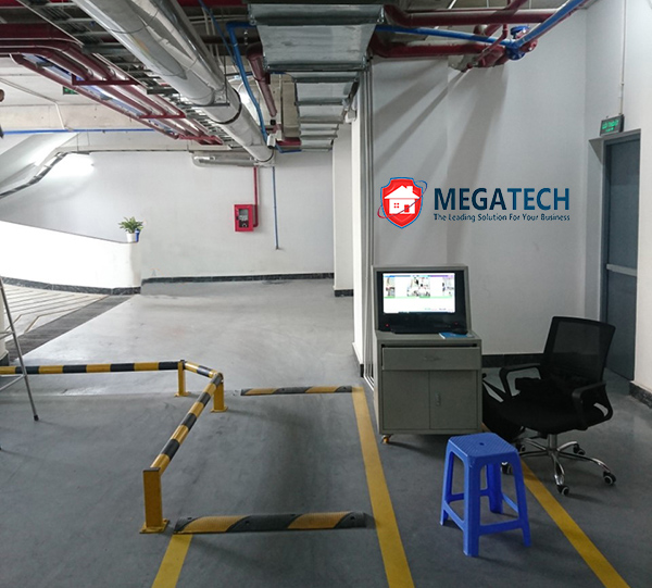 Dự án bãi giữ xe thông minh trong tầng hầm tòa nhà Serepok