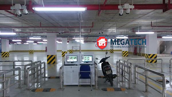 Hệ thống kiểm soát xe tầng hầm Vincom