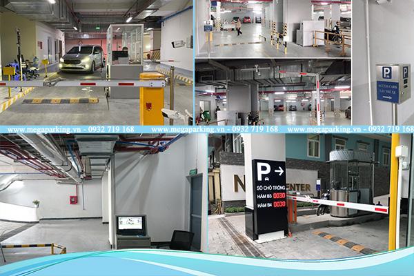 Dự án kiểm soát xe ra vào tầng hầm từ Megatech