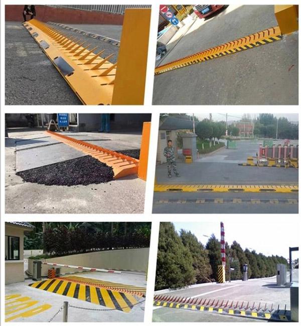 Tyre killer barrier thích hợp lắp đặt tại những khu vực bảo mật cao