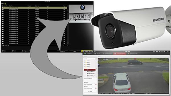 Camera Hikvision thích hợp dùng kiểm soát phương tiện