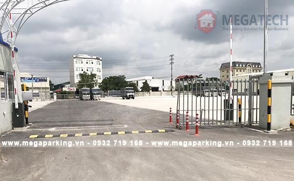 Megatech thi công dự án bãi xe Như Quỳnh