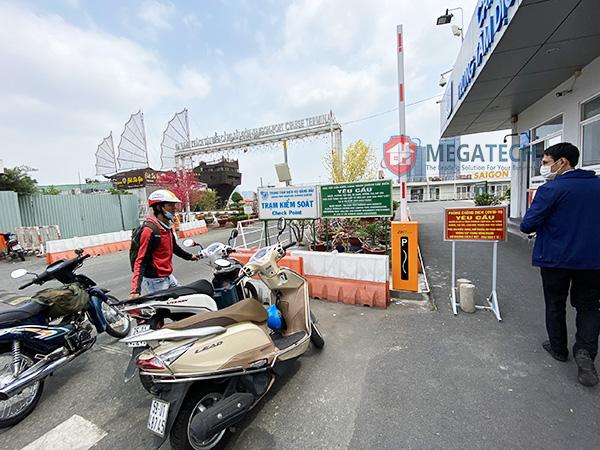 Lắp đặt cổng barrier tự động