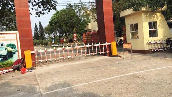 Barrier rào đơn BS 306 thích hợp kiểm soát cổng ra vào