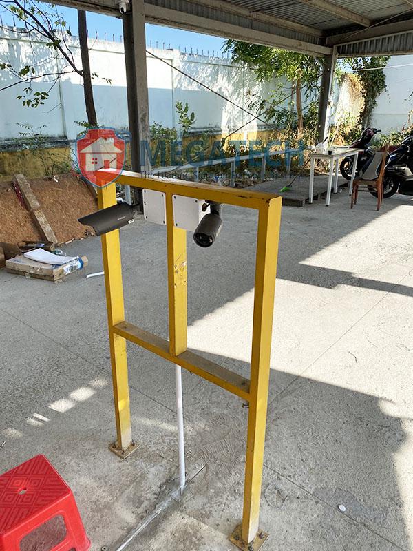 Lắp camera tại dự án CĐ Nghề Ninh Thuận