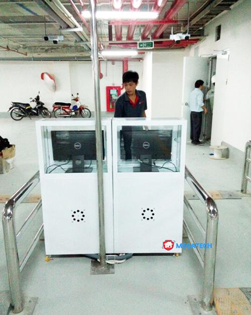 Lắp đặt máy giữ xe thông minh uy tín tại Megatech