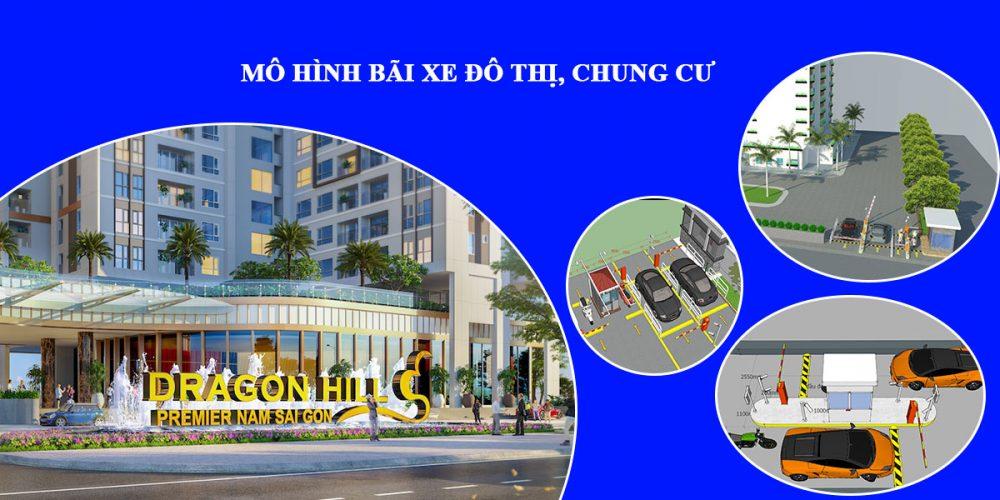 Thiết kế mô hình bãi xe thông minh khu đô thị, chung cư